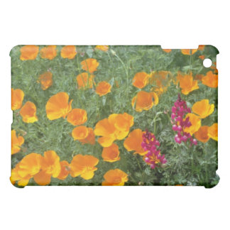yellow Poppies grasping the sun flowers iPad Mini Cases