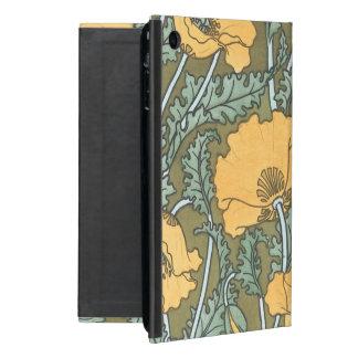 Yellow Poppies iPad Mini Case