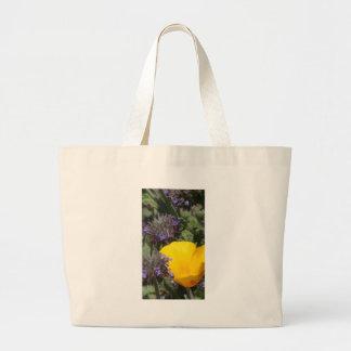 Yellow Poppy Flower Photograph Bag