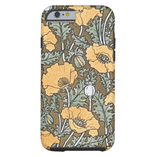 Yellow Poppy Tough iPhone 6 Case