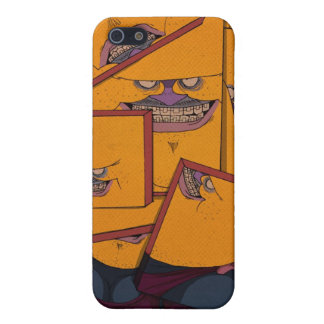 Yellow Portrait iPhone 5/5S Cases