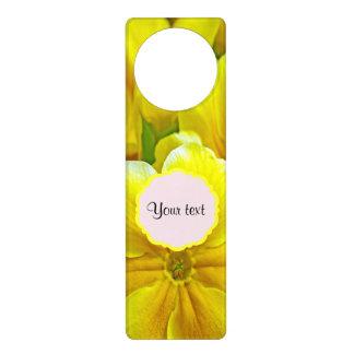 Yellow Primroses Door Hanger