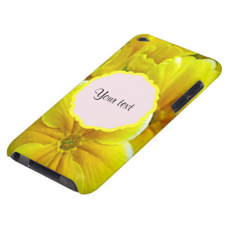 Yellow Primroses iPod Touch Cover