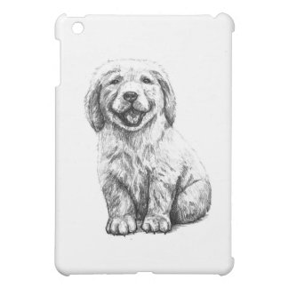 Yellow Puppy Lab Case For The iPad Mini