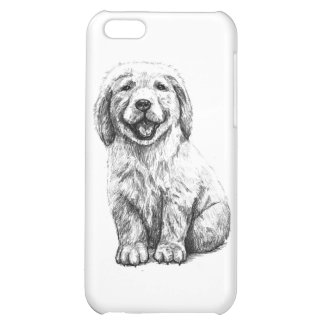 Yellow Puppy Lab Case For iPhone 5C