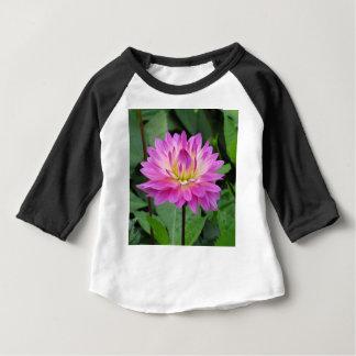 Yellow Purple Dahlia Baby T-Shirt