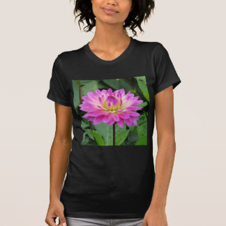 Yellow Purple Dahlia T-Shirt