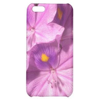 Yellow Purple haze flowers Case For iPhone 5C