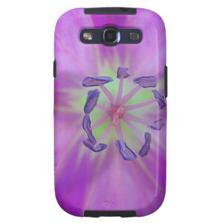 Yellow-purple plant star with bloom stamps galaxy SIII covers