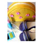 Yellow purse invitation