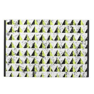 Yellow Pyramid Distressed Pattern