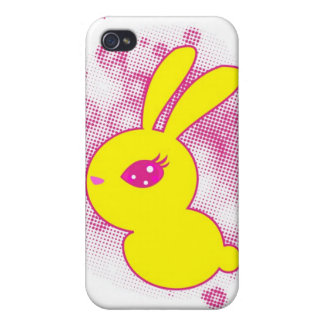 Yellow rabbit cases for iPhone 4