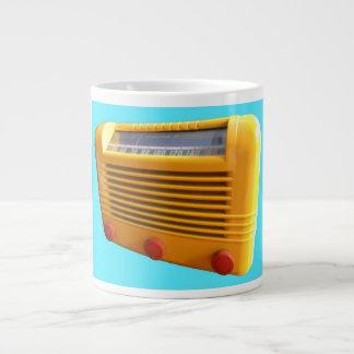Yellow Radio Jumbo Mug