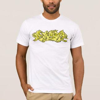 Yellow Rase Graffiti T-Shirt