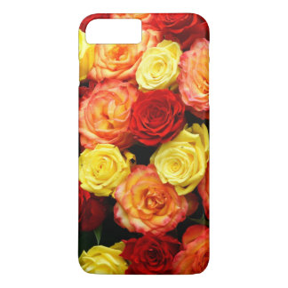 Yellow Red Orange Roses iPhone X Case Barely There