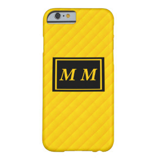 Yellow Repeating Background Barely There iPhone 6 Case