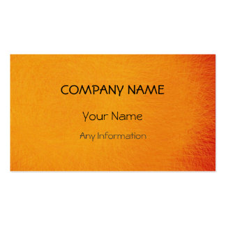 Yellow Retro Abstract Painting 4 Pack Of Standard Business Cards