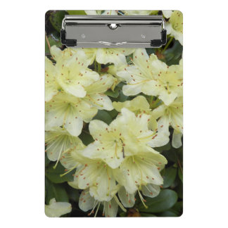 Yellow Rhododendrons Floral Mini Clipboard