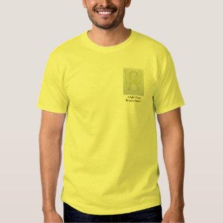 Yellow Ribbon Angel Cause Awareness Custom Shirts