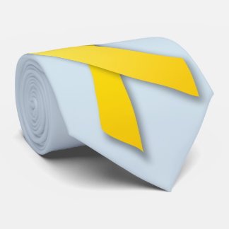 Yellow Ribbon custom tie