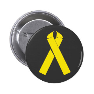 Yellow Ribbon Products and Apparel 6 Cm Round Badge
