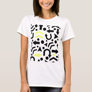 Yellow right direction T-Shirt
