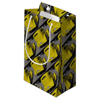 Yellow Roadster Gift Bag for Him