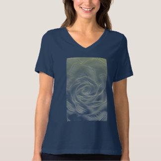 Yellow Rose Abstract T-Shirt