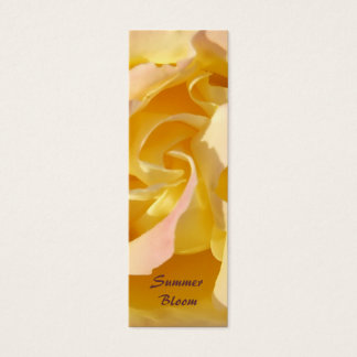 Yellow Rose Bookmark Profile card