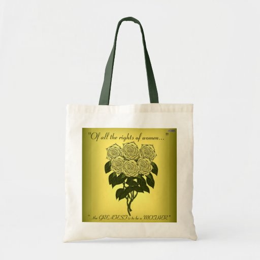 Yellow Rose Bouquet (Mothers Day) Canvas Bags