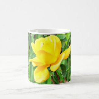 Yellow Rose Bud Coffee Cup/Mug Coffee Mug