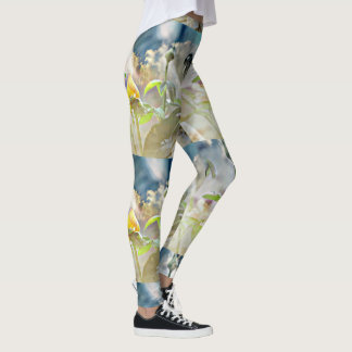 Yellow Rose Bud Women's Leggings