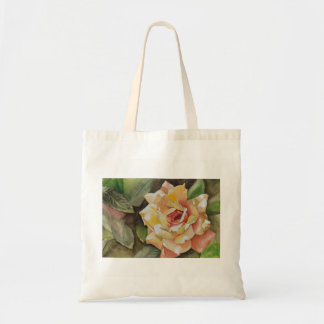 Yellow Rose Budget Tote