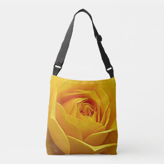 Yellow Rose Crossbody Bag