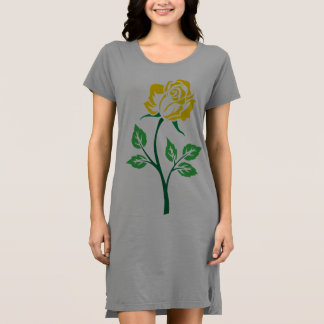 Yellow Rose Customizable Dress