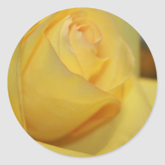 Yellow Rose Envelope Seal Stickers