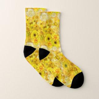Yellow Rose Friendship Bouquet Gerbera Daisy 1
