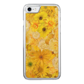 Yellow Rose Friendship Bouquet Gerbera Daisy Carved iPhone 8/7 Case