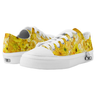 Yellow Rose Friendship Bouquet Gerbera Daisy Low Tops