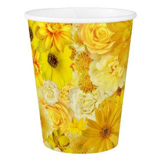 Yellow Rose Friendship Bouquet Gerbera Daisy Paper Cup
