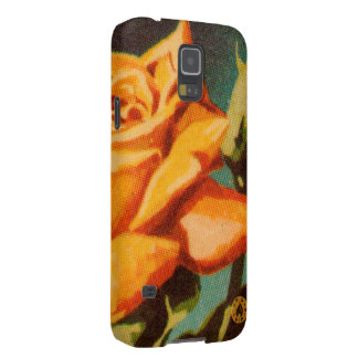 Yellow Rose Galaxy S5 Cover