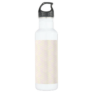 Yellow Rose Mermaid Pastel Pattern 710 Ml Water Bottle