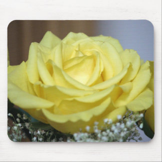 Yellow Rose Mouse Pad