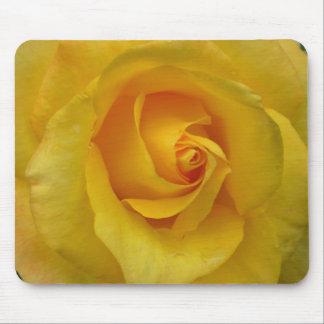 Yellow Rose Mousepad Rose Mouse Pad Custom