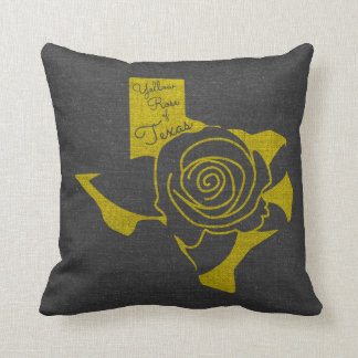 Yellow Rose of Texas Cushion