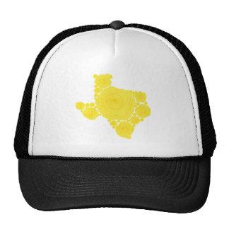 Yellow Rose of Texas Trucker Hats