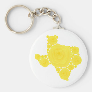 Yellow Rose of Texas Key Chain