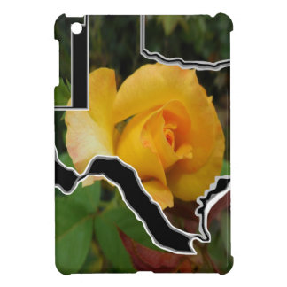 Yellow Rose of Texas with Texas Case For The iPad Mini