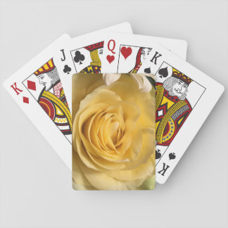 Yellow Rose Playing Cards