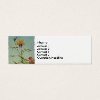 Yellow Rose profile card